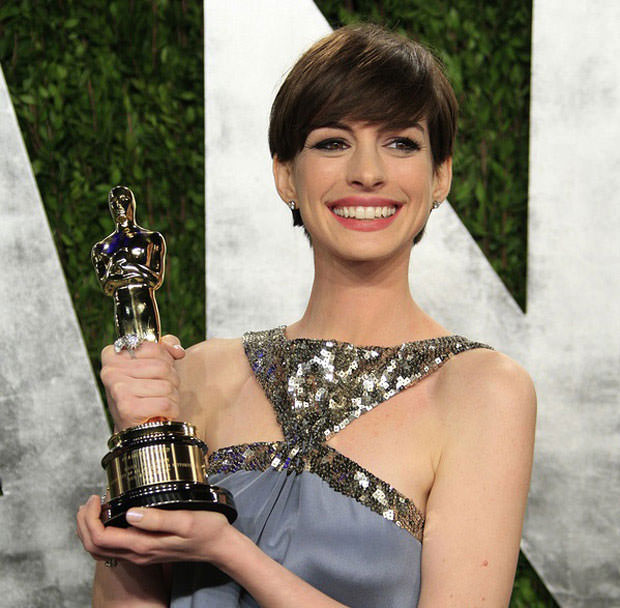 Anne Hathaway Speech: 15 Celebrity Transformations