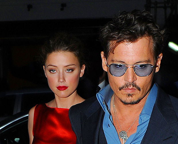 Johnny Depp and Amber Heard Arrive at Cipriani London
