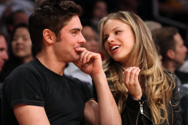 Halston sage dating zac efron
