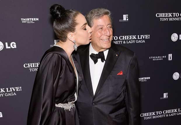"Tony Bennett and Lady Gaga ""Cheek To Cheek"" Taping - Red Carpet"