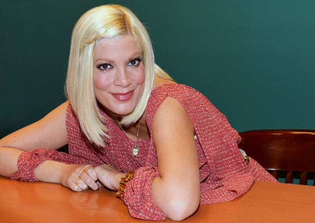 "Tori Spelling Signs Copies Of ""CelebraTORI: Unleashing Your Inner Party Planner To Entertain Friends And Family"""