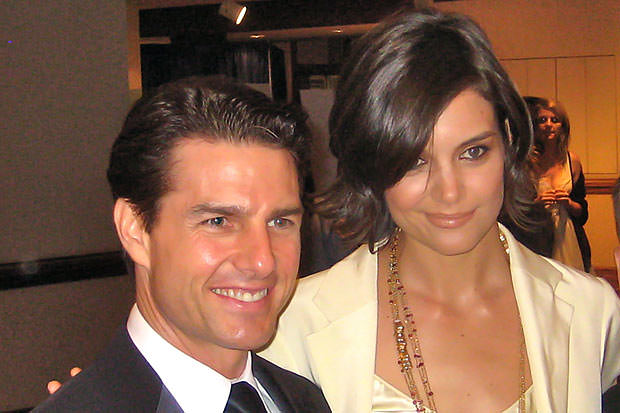 Happy times, Tom Cruise and Katie Holmes